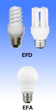 EFD10W・EFA10W電球色